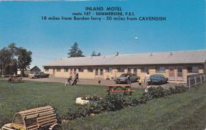 Inland Motel , SUMMERSIDE , P.E.I. , Canada , 50-60s