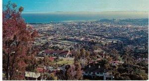 Postcard - El Encanto Hotel & Villas, Santa Barbara Riviera, Pacific Ocean, Cali