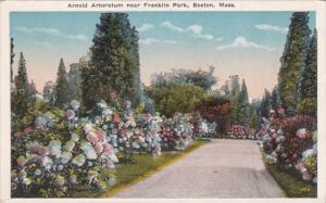 Massachusetts Boston Arnold Arboretum Near Franklin Park