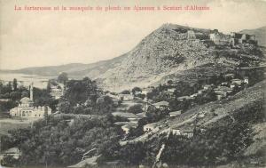 Scutari Albania fortress & mosque Ajassum