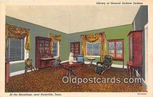 Library of General Andrew Jackson, Hermitage Nashville, TN, USA Unused
