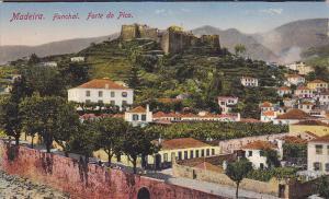 Aerial View, Forte Do Pico, MADEIRA, Portugal, 00-10's