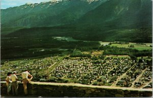 Revelstoke BC Columbia River Mt. Begbie c1972 Vintage Postcard F57