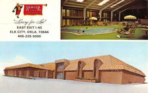 Elk City Oklahoma Ramada Inn Multiview Vintage Postcard K58557