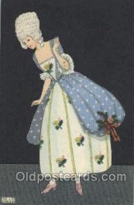 B.K.W. I. 384-3 Artist Signed Mela Koehler Unused