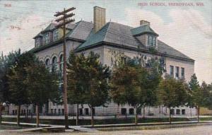 Wisconsin Sheboygan High School 1908
