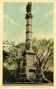 MA - Boston. Army and Navy Monument