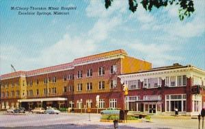 Missouri Excelsior Springs Mccleary Thornton Minor Hospital