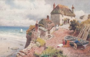 Paignton, Devon, England, UK, 1906 ; Cottage on Cliff ; TUCK 6284