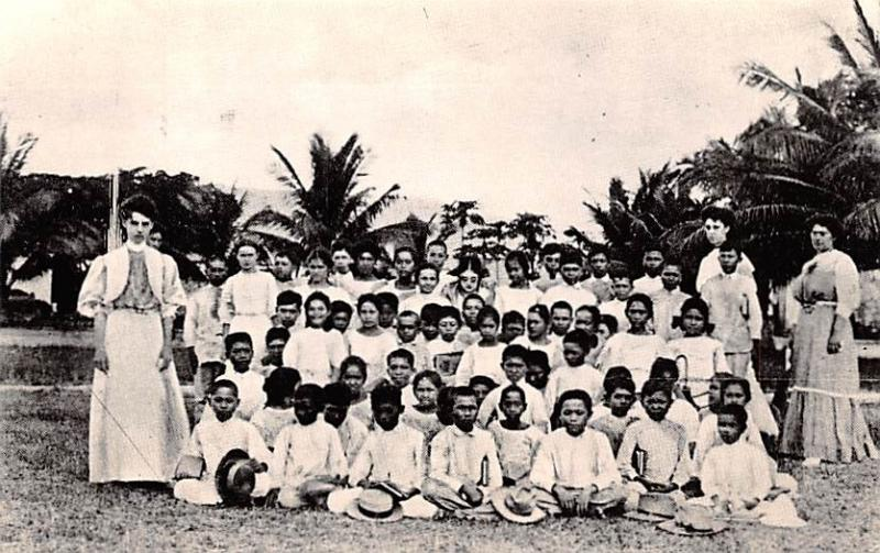 Guam Down Memory Lane, Teacher and Students  Teacher and Students