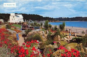 Postcard St. Brelades Bay, Jersey, Channel Islands C34