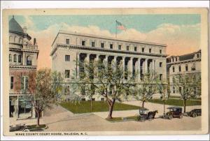 Wake Co Court House, Raleigh NC