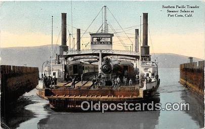Southern Pacific Transfor Port Costa, CA USA Ship Unused