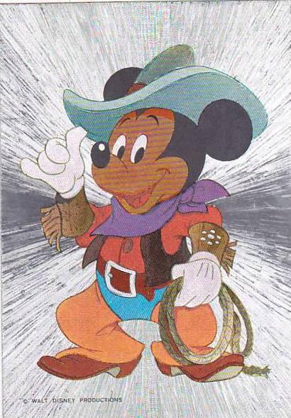 Walt Disney Character Mickey Mouse