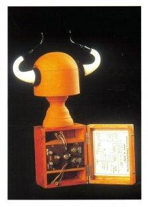 Art Assemblage Sculpture Postcard, Elementary Detector by David Kemp ER2
