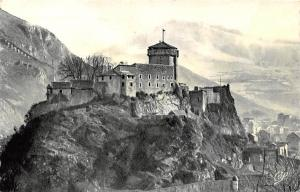 France Lourdes Le Chateau Fort Castle Mountain Panorama