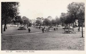 Manchester Monton Green Eccles Vintage Real Photo Postcard