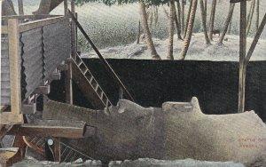 CAIRO, Egypt, 1900-1910s; Statue Of Ramses II