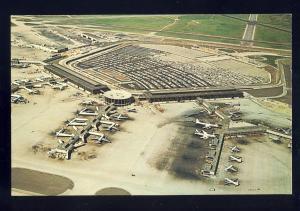 Chicago, Illinois/IL Postcard, Chicago O'Hare International Airport