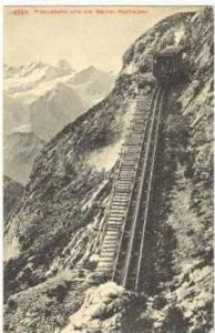 Pilatusbahn Und Die Berner Hochalpen, Switzerland, 1900-1910s