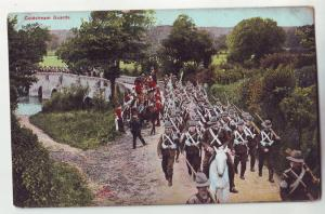 P897 old card miltary the coldstream guards regiment, originated in scotland