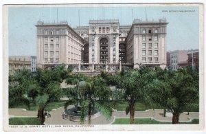 San Diego, California, U. S. Grant Hotel
