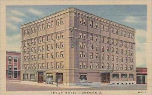 Illinois Champaign Inman Hotel