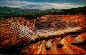 Utah Aerial View Bingham Copper Mine