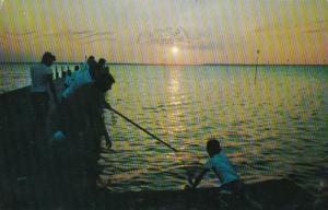 New Jersey Barnegat Bay Crabbing When The Sun Goes Down 1958