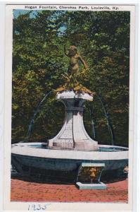 Hogan Fountain, Cherokee Park, Louisville KY