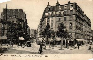 CPA PARIS (15e) La Place Saint-Charles. (563323)