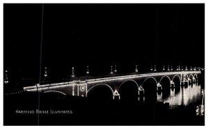 Connecticut Hartford  ,  Hartford Bridge Illuminated