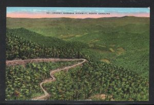 North Carolina colour PC Craggy Gardens Highway, N.C.  unused