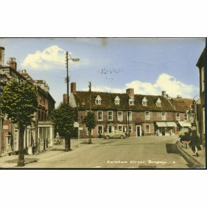 Frith's Series Postcard 'The Village, Happisburgh'