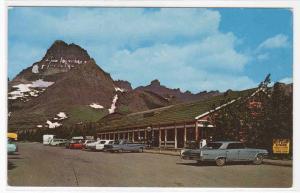 Swiftcurrent Motor Inn Cars Glacier National Park Montana postcard