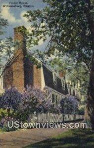 Travis House - Williamsburg, Virginia