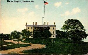Maine Portland The Marine Hospital 1914