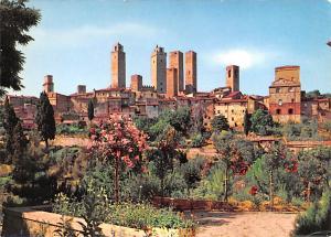 Italy Old Vintage Antique Post Card General View SIena Unused