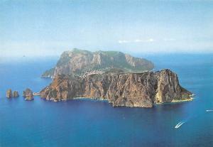 Italy Isola di Capri Veduta aerea Air view Island General view