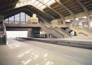 Cherbourg Ferry Terminal, 1950-1990s