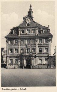 Schwabisch Gemund, Germany, 1940s , Rathaus