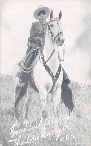 Lone Ranger, MBS Western Actor Mutoscope Unused
