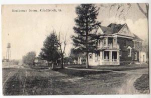Residence Scene, Gladbrook IA