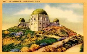 CA - Los Angeles. Griffith Park Planetarium & Observatory    (Astronomy)