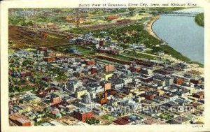 Aerial View - Sioux City, Iowa IA