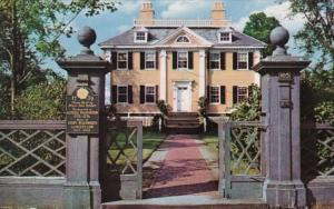 Massachusetts Cambridge The Longfellow House