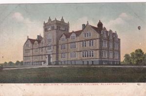 ALLENTOWN, Pennsylvania, 1900-10s; Main Building, Muhlenberg College