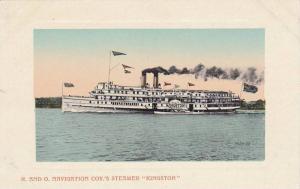 Oceanliner/Steamer/Ship, R. & O. Navigation Coy.'s Steamer Kingston, 1900-1...