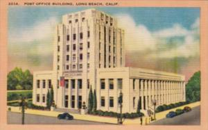 California Long Beach Post Office Building