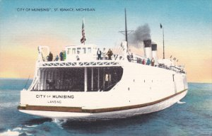 Ferry , CITY of Munising, ST IGNACE , Michigan , 30-40s